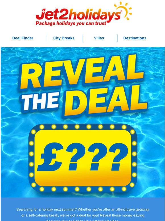 Jet2holidays Open For Great Summer 21 Deals Milled