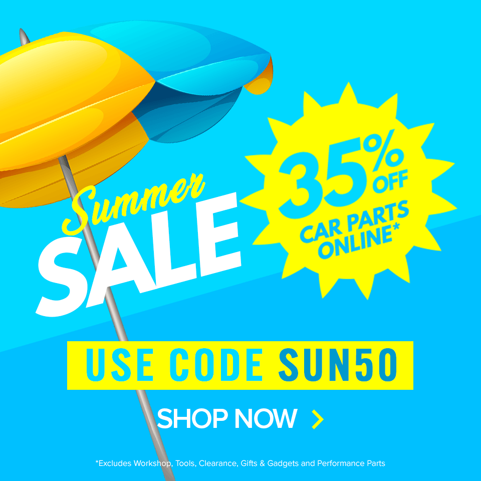 euro car parts summer sale live with a bright 35 off use code sun50 milled euro car parts summer sale live with