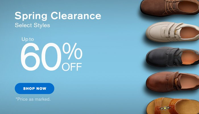 Dr. Comfort: End of Spring Clearance