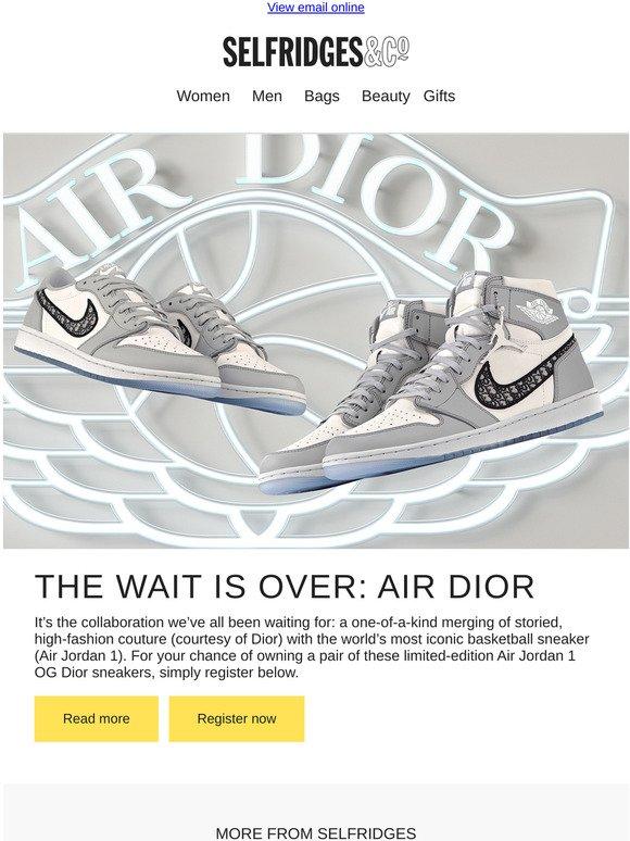 limited-edition Air Jordan 1