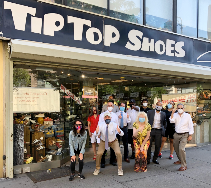 Tip Top Shoes: Welcome Back to Tip Top