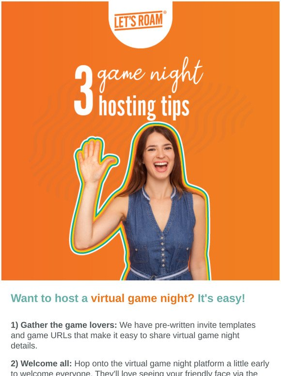 Let's Roam Scavenger Hunts: Tonight's game night, right? | Milled