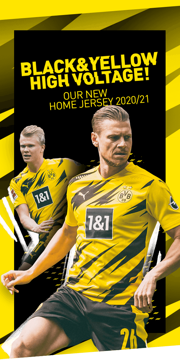 Bvb Borussia Dortmund The New Bvb 20 21 Home Jersey Milled
