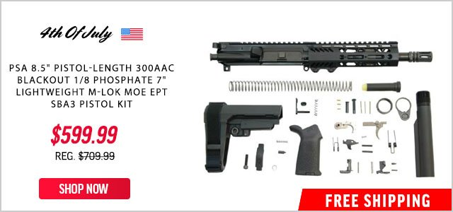 Palmetto State Armory Fourth Of July Deals Iwi Masada 9mm Factory Blem Pistol 399 99 Milled