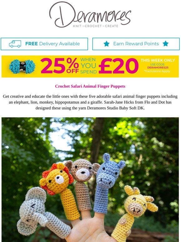 Amigurumi Bunny Finger Puppet Free Pattern – Amigurumi Free ... | 774x580