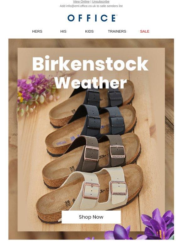 Office Shoes: Birkenstock Weather | Milled