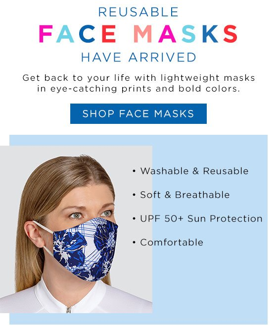 Tail Activewear masks are reusable