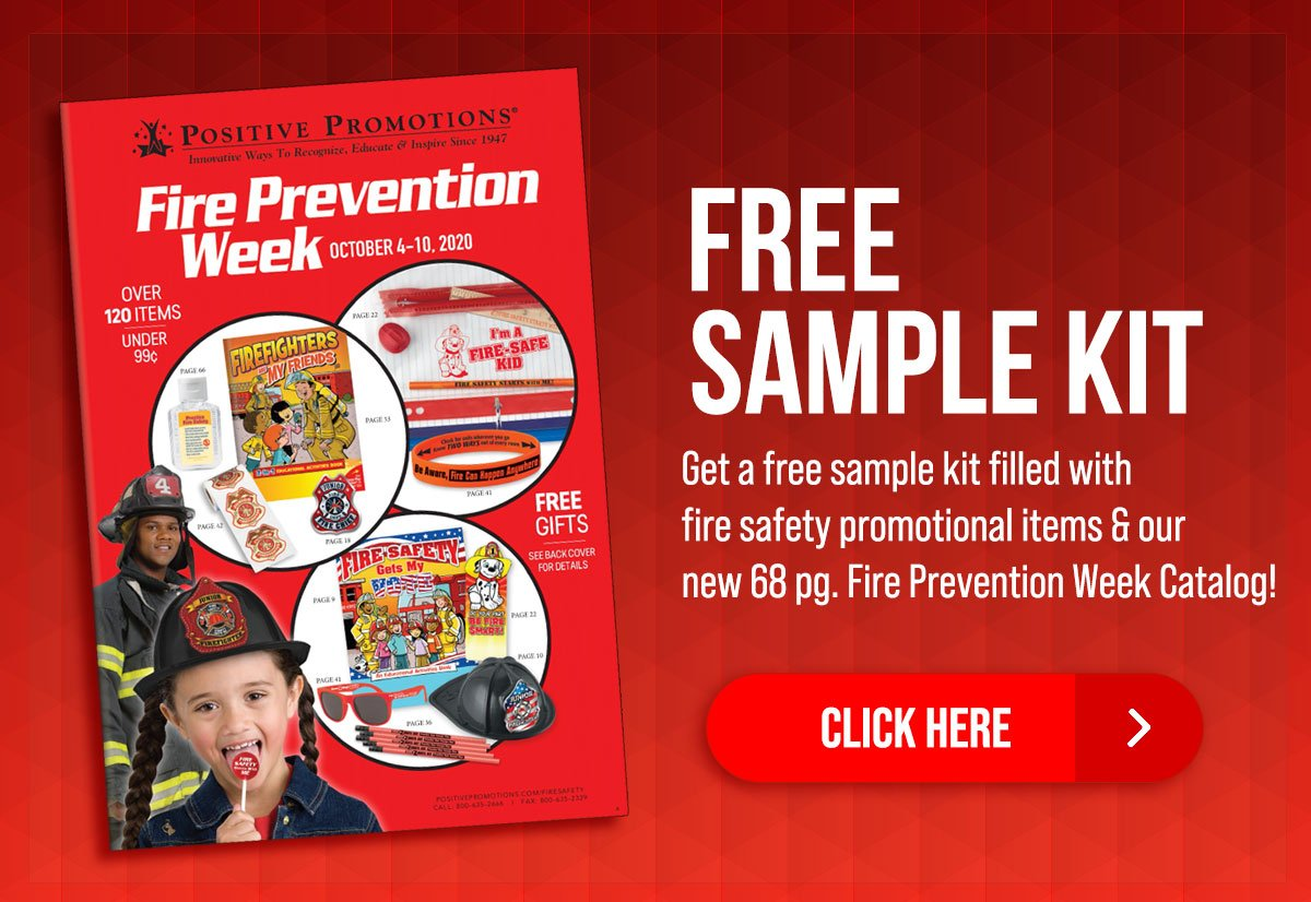 Positive Promotions Get A Free Sample From Our New Fire Prevention Catalog Milled