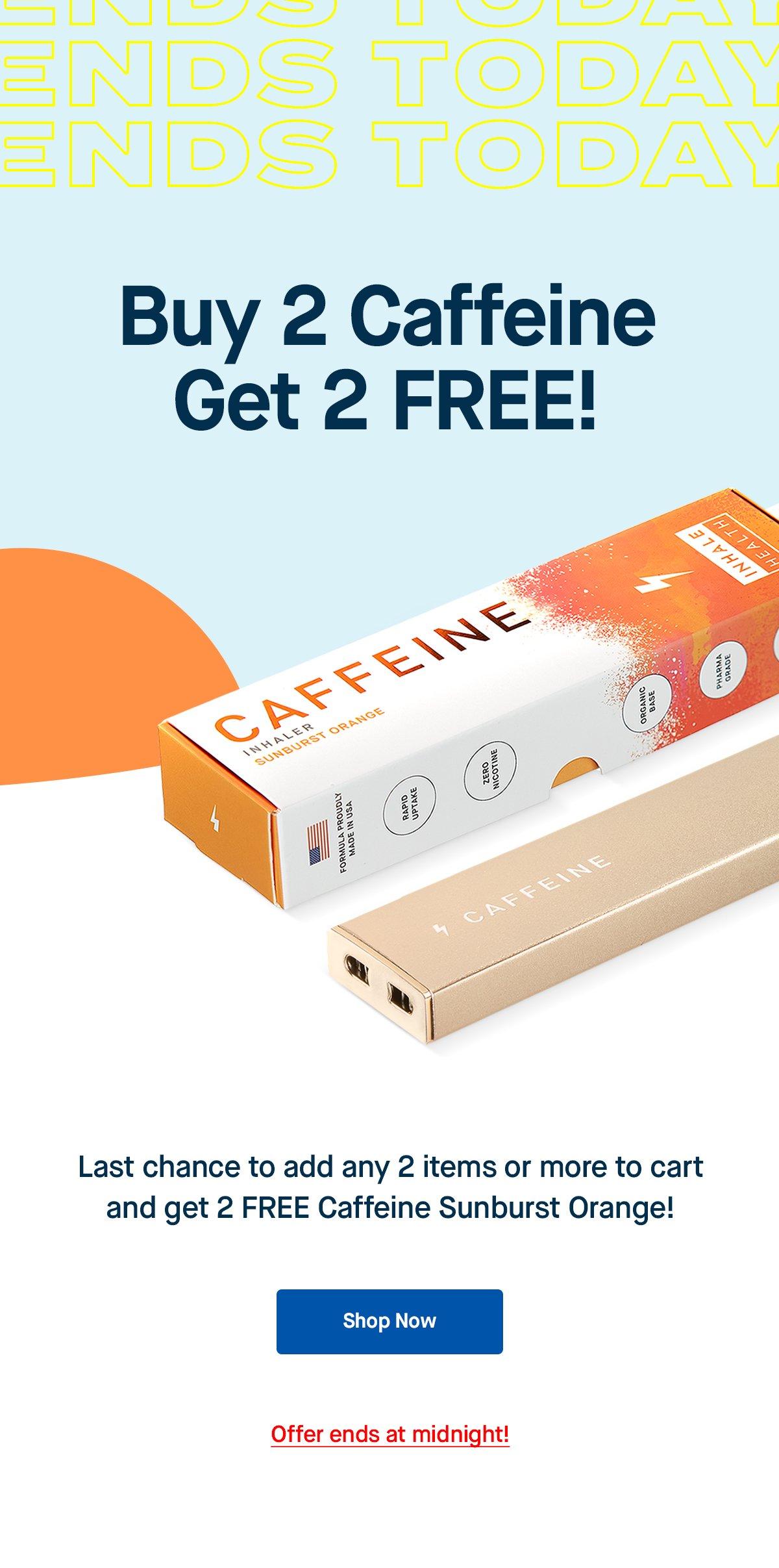 Inhale Health: ⚡ Ends Today ⚡ BUY 2 GET 2 Free Caffeine ...