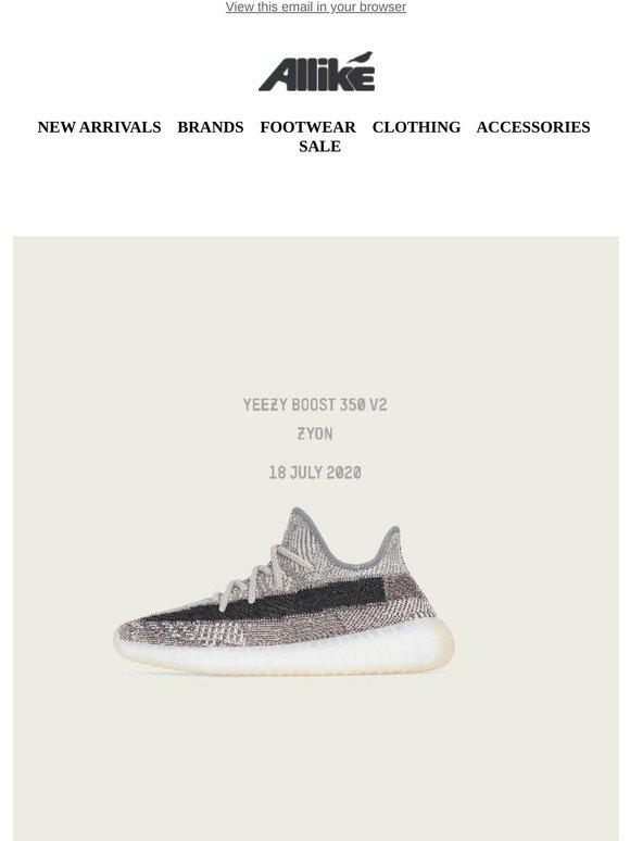 Allike: Adidas Yeezy Boost 350 V2 \