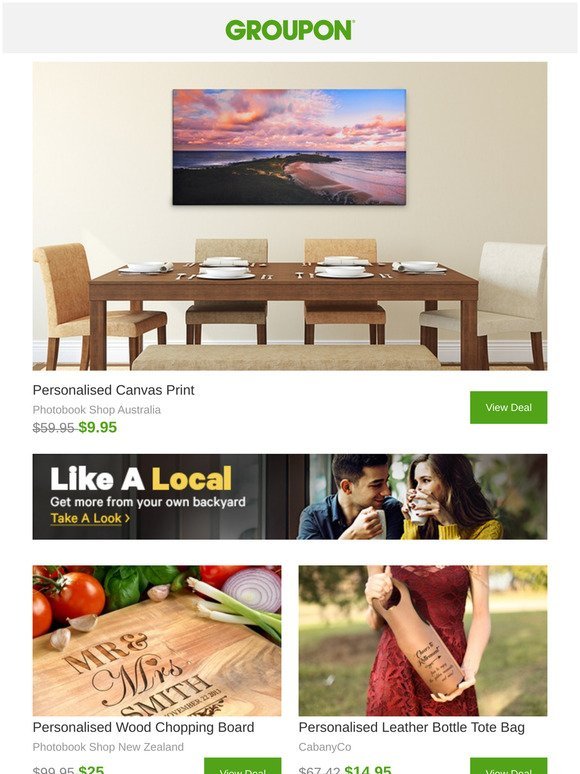 Groupon Nz Photobooks Canvas Prints And More To Make Memories Last Milled