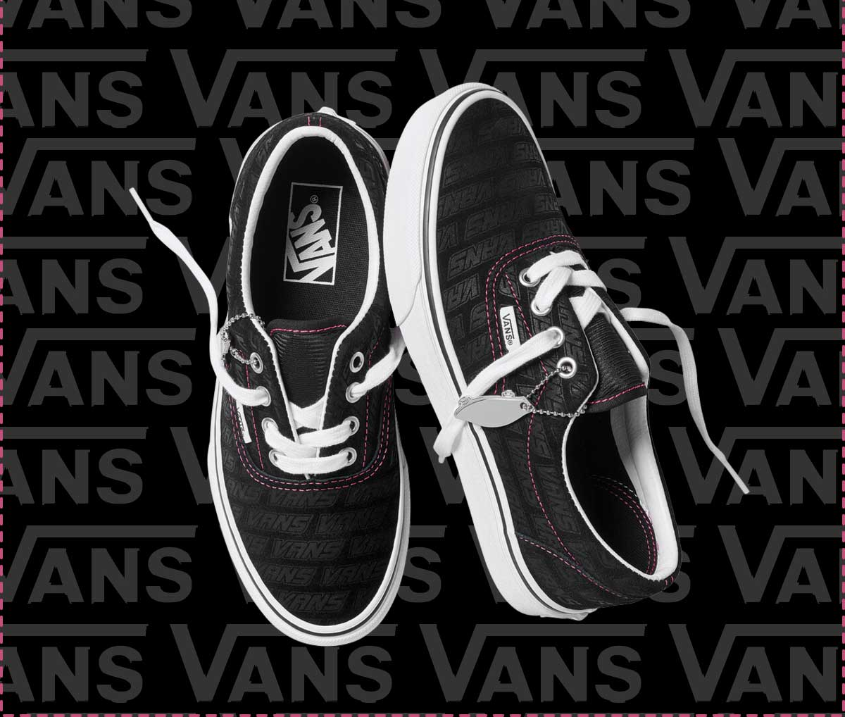Stand Out In Vans Emboss 😍   Milled