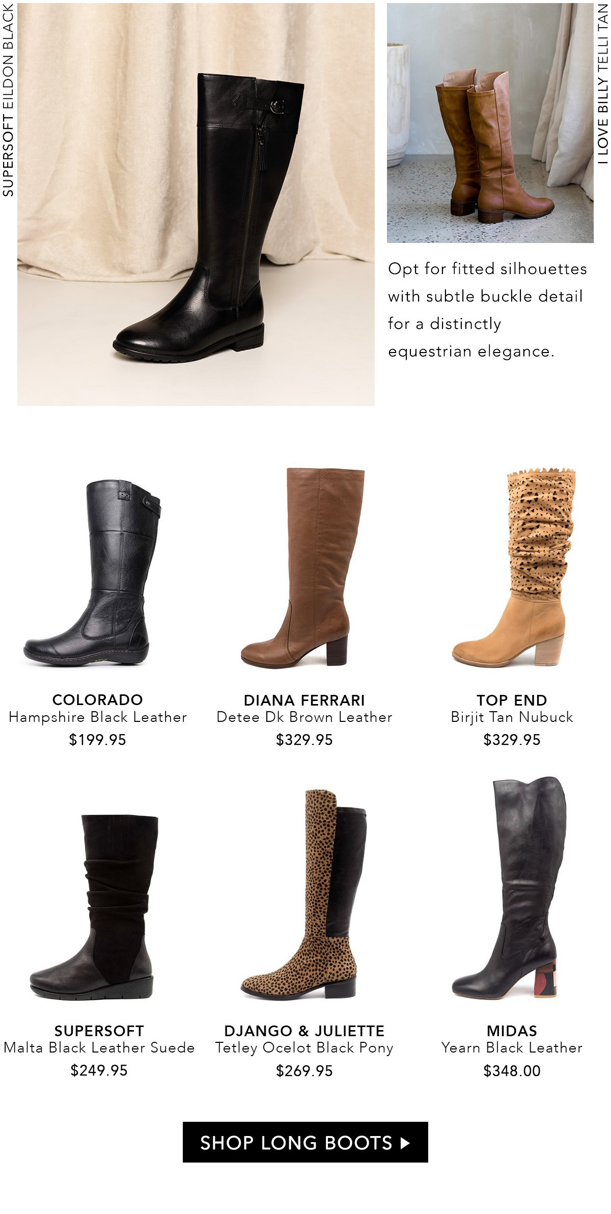 Style Tread: Luxe in Long Boots   Milled