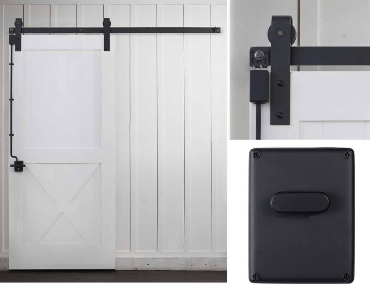Rustica Hardware The First Ever Self Latching Lock For Sliding Barn Doors Milled