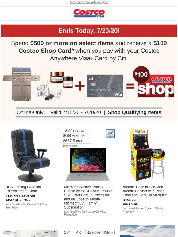 Costo A Special Promotion On Qualifying Online Only Items Ends Today Milled