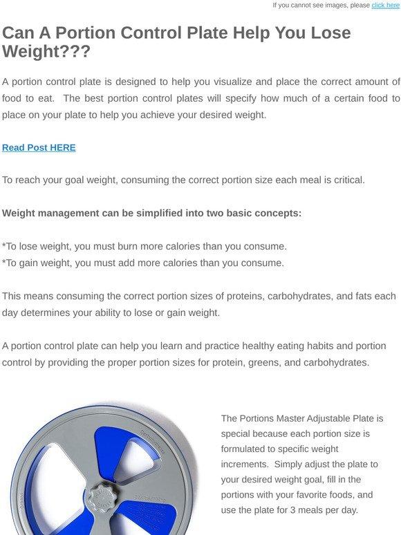 portion control concepts -diet -obesity -diabetes