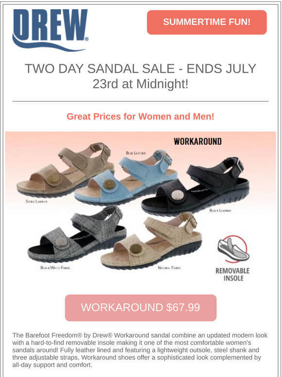 Drew Shoe: Summer Clearance! Up To 60