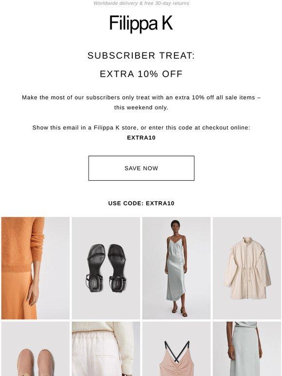 filippa k sale online
