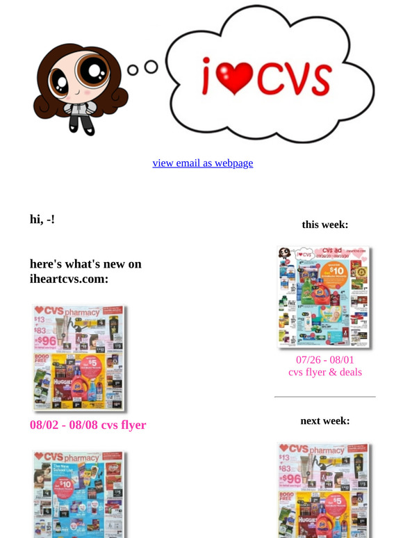 I Heart Cvs 12 15 12 21 Ad 15 Off 65 On Cvs Com Milled