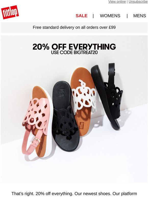 fitflop: Get 20% Off Everything!   Milled