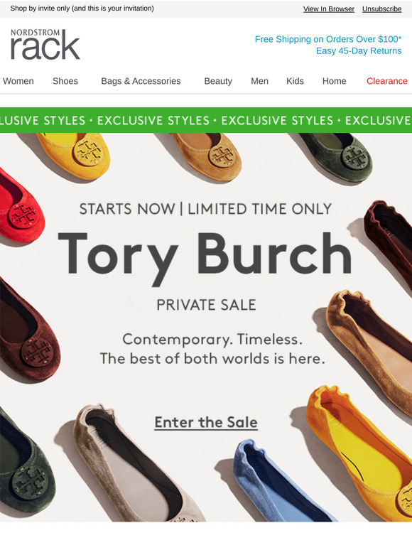 Nordstrom Rack: Private Sale: Tory