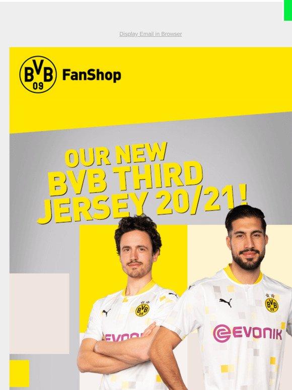 Bvb Borussia Dortmund Our New Bvb Third Jersey 20 21 Milled