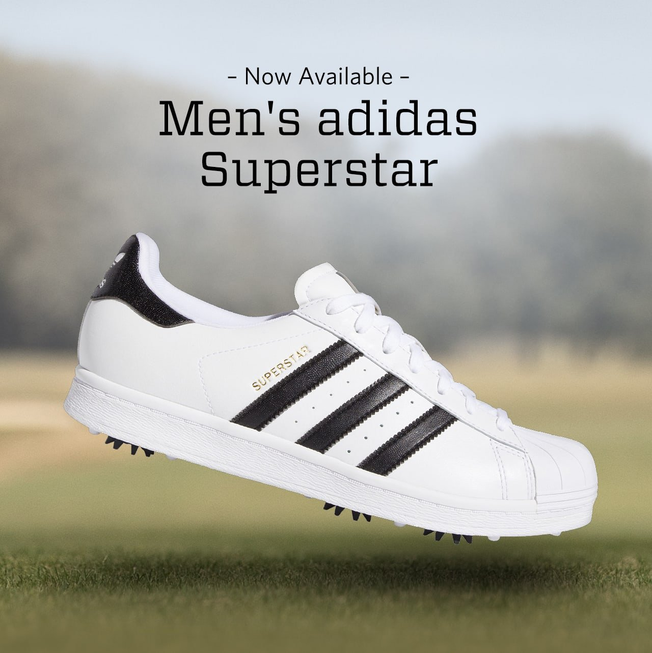 Golf Galaxy Out Now Men S Adidas Superstar Golf Shoes Milled