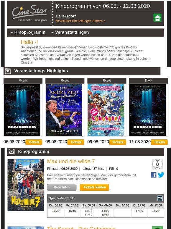 Eastgate Kinoprogramm