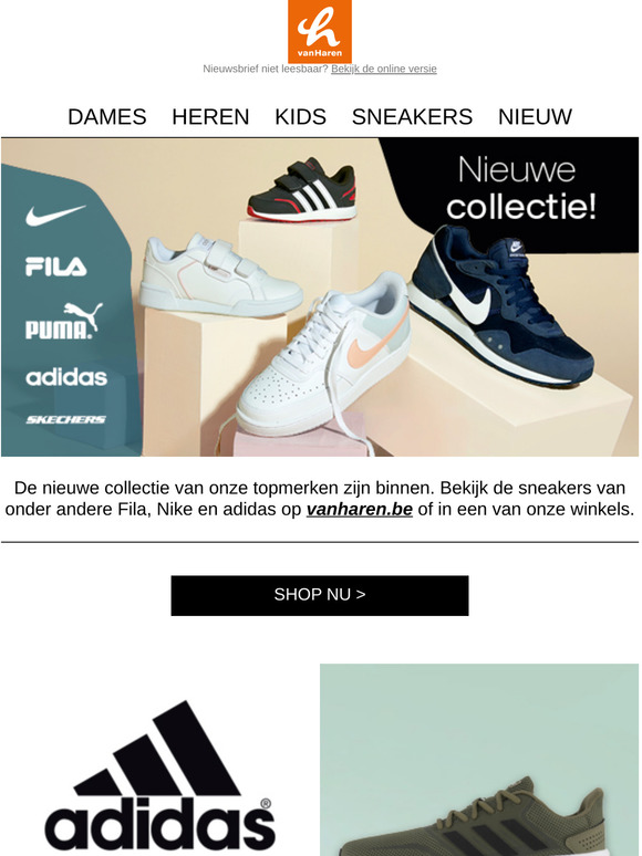 vanHaren : NEW IN! Sneakers van topmerken   Milled