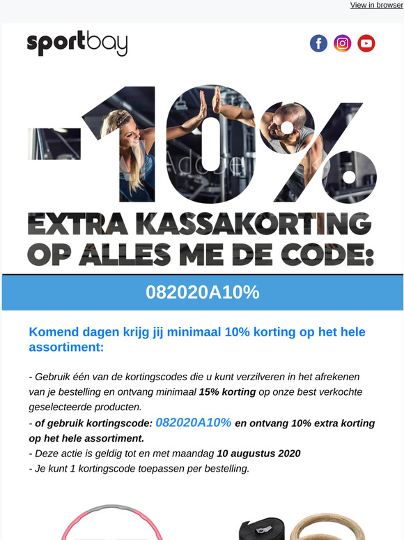 Sportbay Nl Email Newsletters Shop Sales Discounts And Coupon Codes