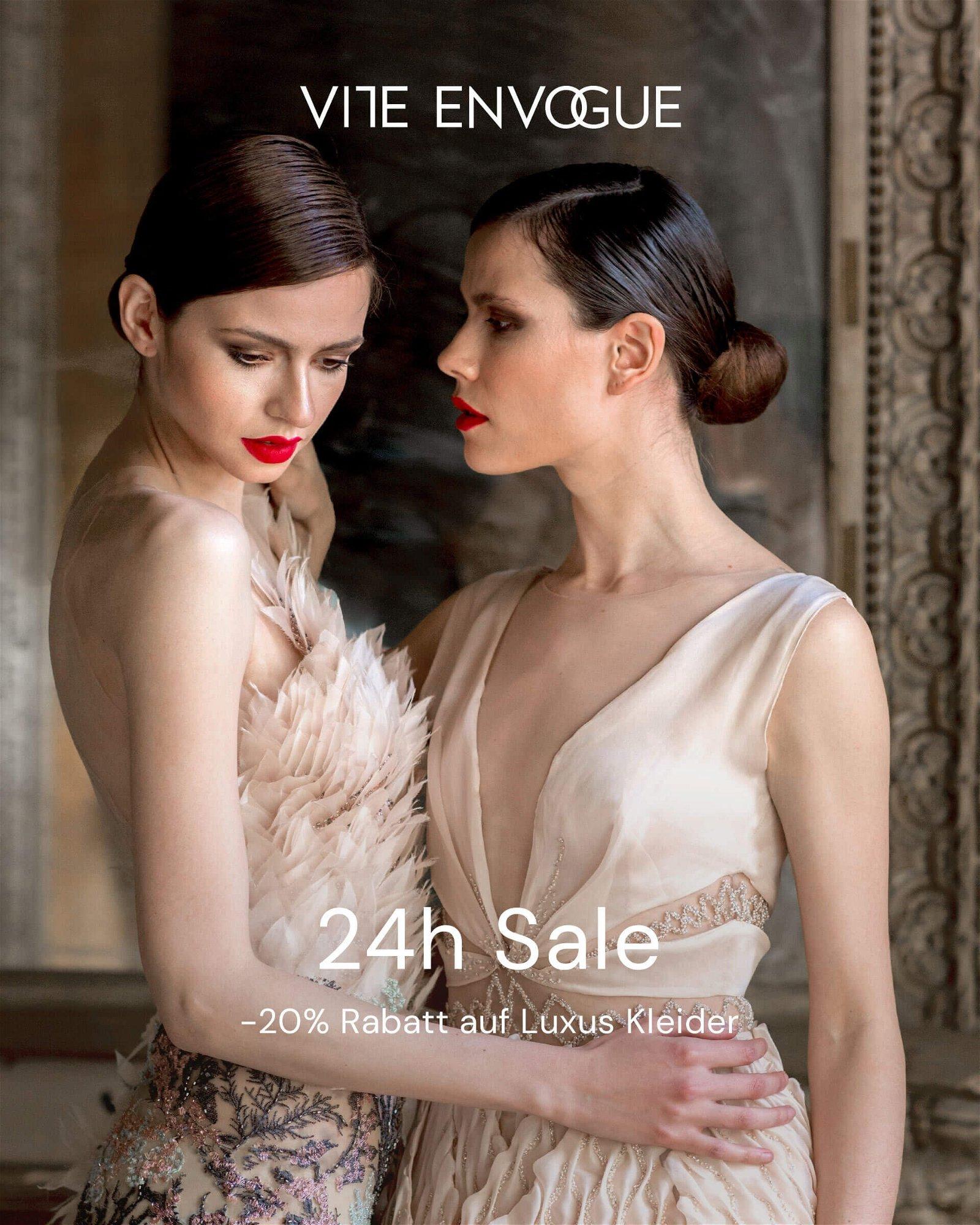 vite envogue DE: 📣 19H Sale: -19% Rabatt auf Luxus Kleider