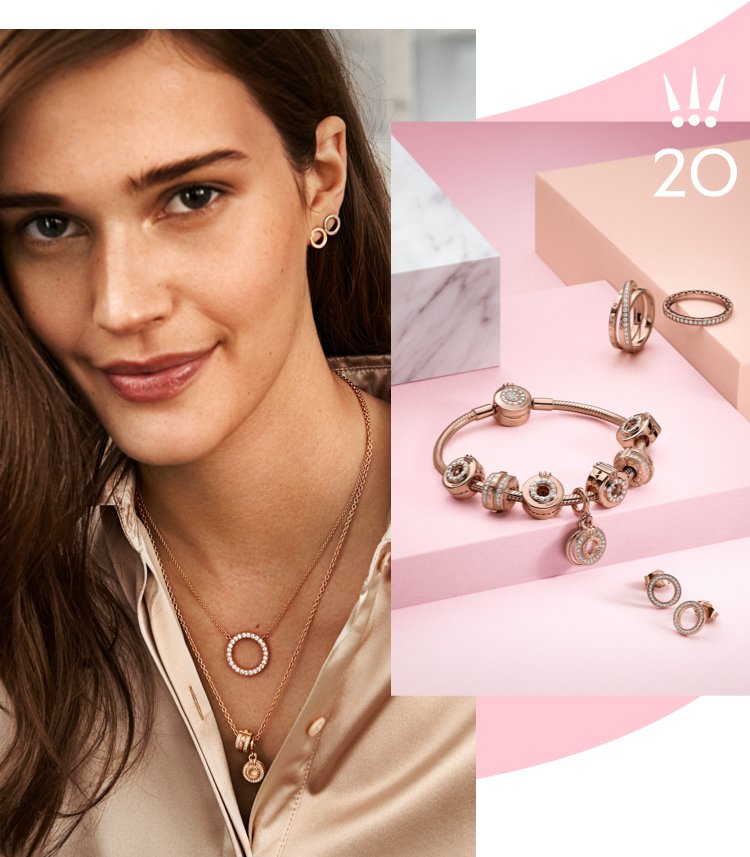 Pandora Jewelry Pandora Rose Offers An Instant Warmth To Any Look Milled