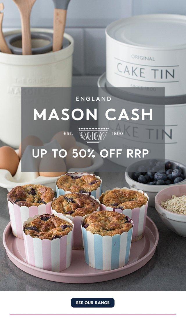 NEW Mason Cash Classic Ramekin Set 4pce