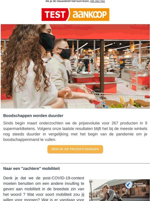 Test Aankoop Be Nl Prijsstijgingen In Supermarkten Vergelijk Smartphones Test De Snelheid Van Je Internetverbinding Onze Strijd Tegen Misleidende Producten Loont Milled