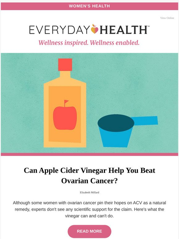 Lifescript Can Apple Cider Vinegar Help You Beat Ovarian Cancer Milled