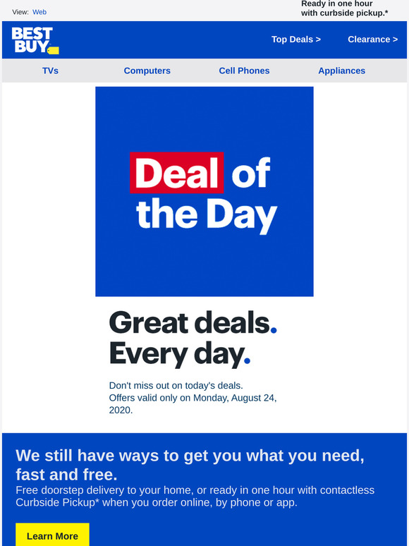Best Buy By Midnight This Will Be Over Always Check Best Buy For Great Offers Milled