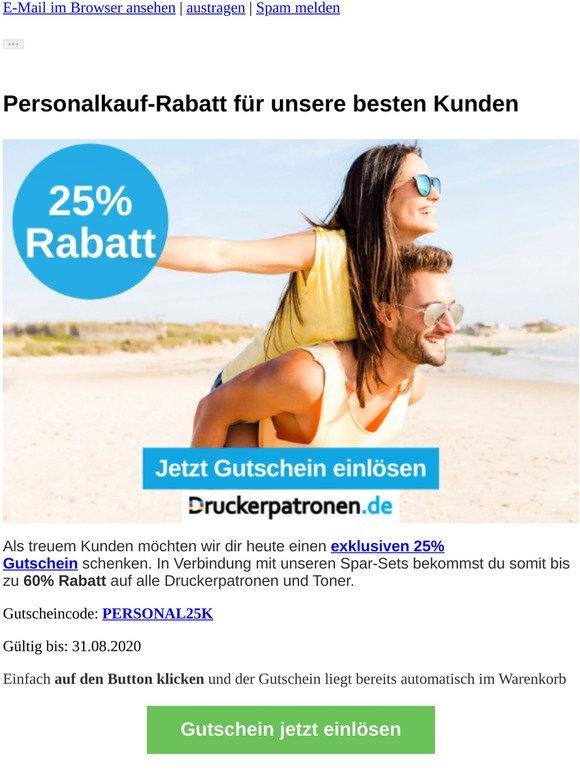 ⚠️25% Personalkauf-Rabatt + Gratisversand