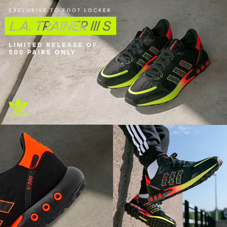 familia real humedad Rana  Foot locker UK: Fresh Drop: the adidas LA Trainer | Milled
