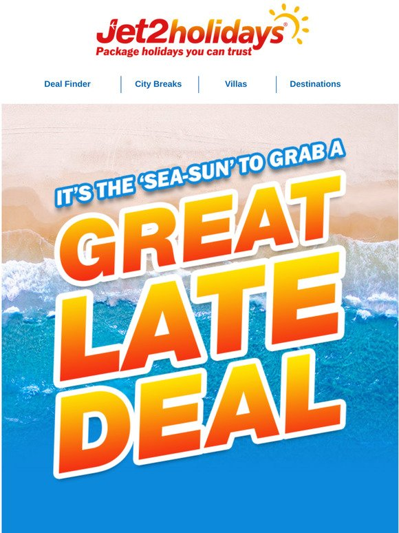 Jet2holidays Seas The Day With These Late Deals Milled