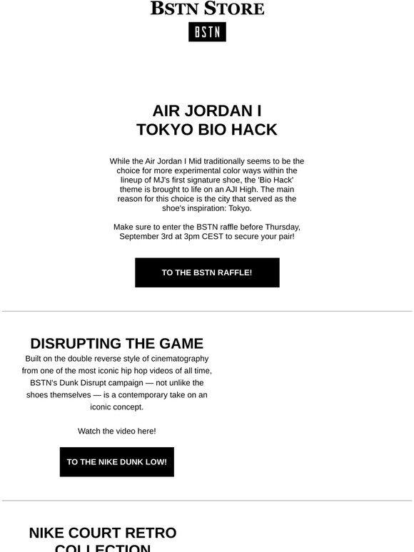 Bstn It: AJ I 'Tokyo Bio Hack' \u0026 more