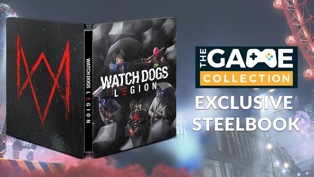The Game Collection Tgc Exclusive Steelbook Offer Milled