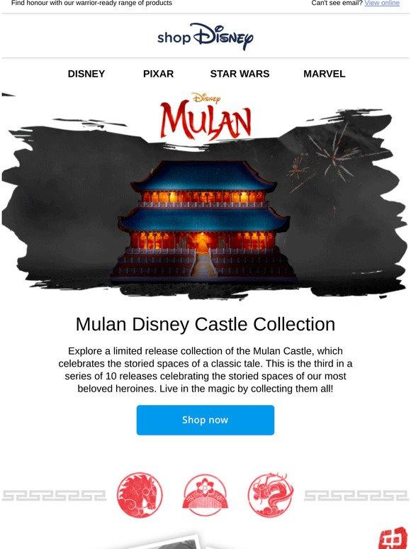 Disney Store Mulan At Shopdisney Milled