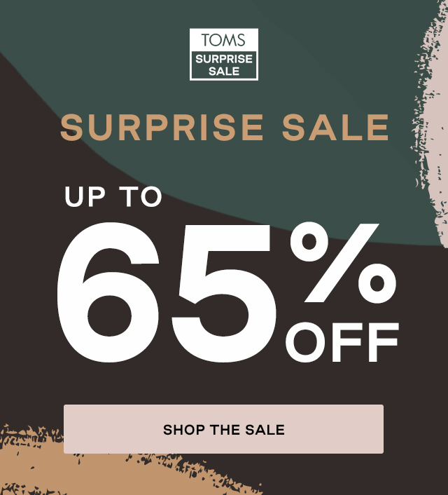 TOMS Surprise Sale: Up to 65% off