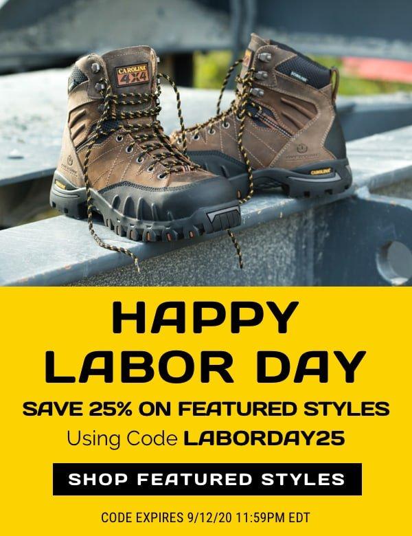 Carolina Footwear: Shop Our Labor Day