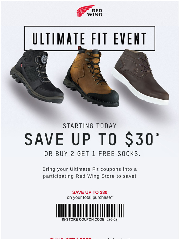 Red Wing Boots Store Coupons