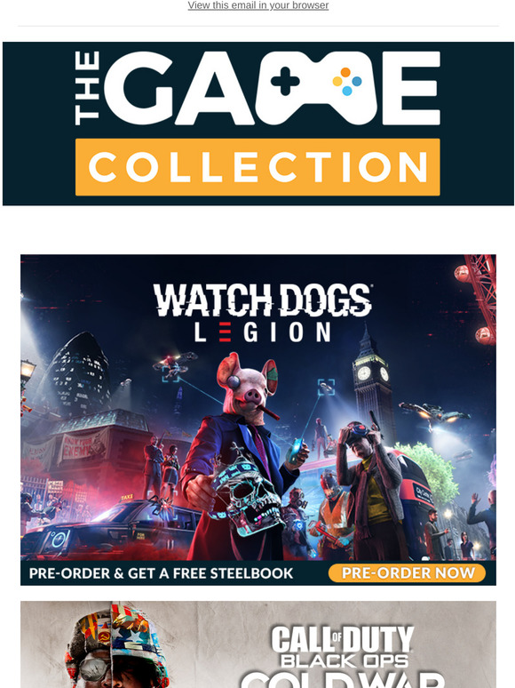 The Game Collection Pledge To The Resistance In Watch Dogs Legion And Earn Your Steel Book Milled