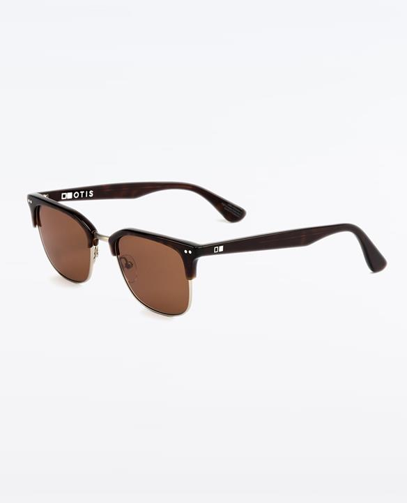 NEW Otis The Double Woodland Matte Brown Brown 120-1904 Sunglasses