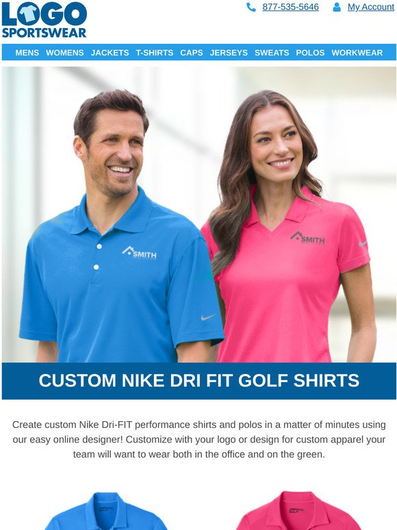 Logosportswear Com Get Best Selling Nike Polos For Your Whole Team Milled