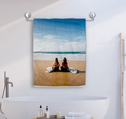 Dein Foto als Handtuch ab 25€