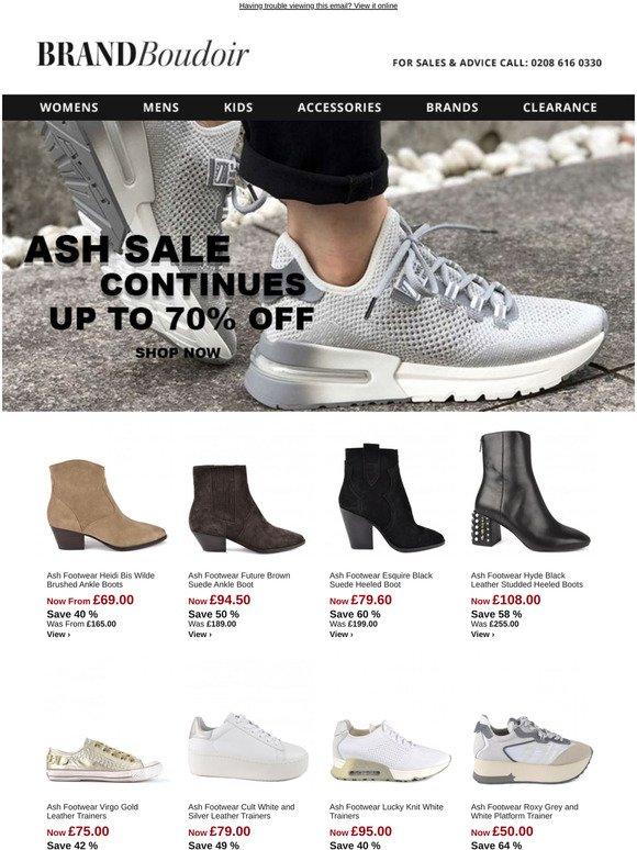 brandboudoir.com: Ash Sale Continues
